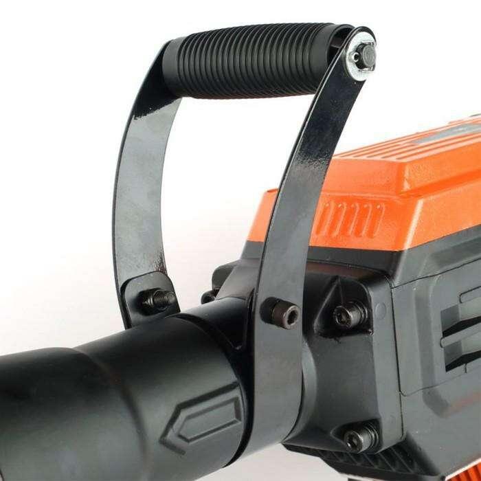 Молоток отбойный PATRIOT DB 460, 1600 Вт, 45 Дж, HEX, 1500 уд/мин, зубило, мет. кейс