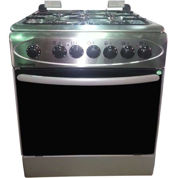 Комбинированная плита Elenberg LF60SGF31F (inox)