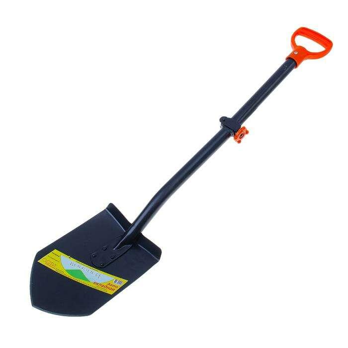 Лопата автомобильная, складной черенок, с ручкой, «Копанец-Авто»