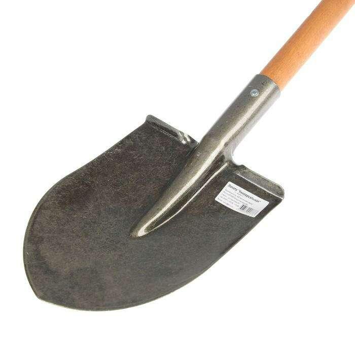 Лопата универсальная, деревянный черенок, «Премиум»