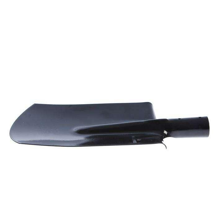 Лопата штыковая, прямоугольная, тулейка 40 мм, без черенка