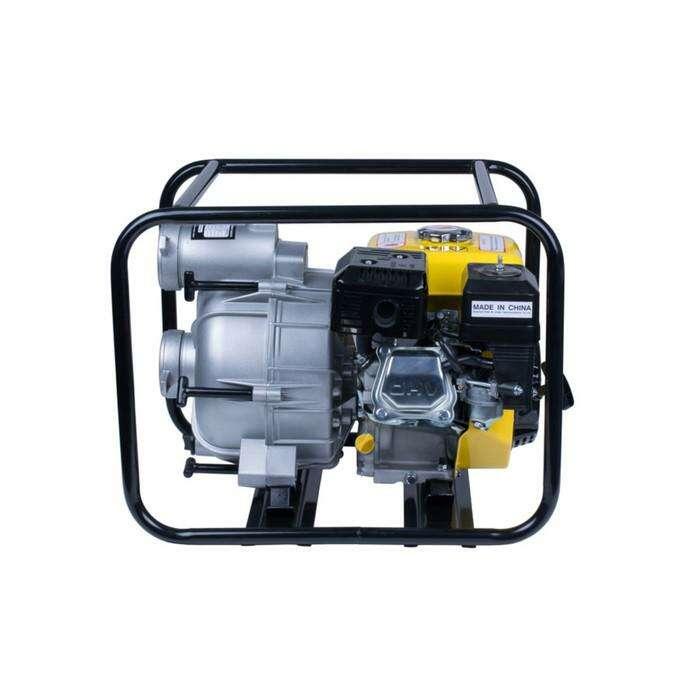 Мотопомпа бензиновая FIRMAN SGP80T, d=80 мм, 1300 л/мин, 28 м, 3.6 л, для грязной воды