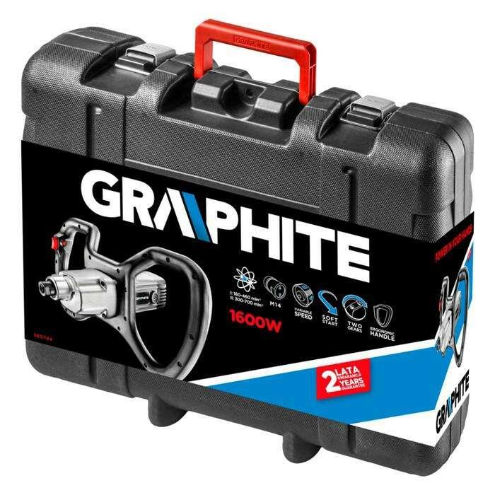 Миксер строительный Graphite 58G784