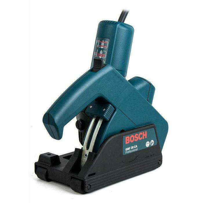 Штроборез Bosch GNF 20 CA (0601612508), 900 Вт, диск 115х22,2мм, ширина паза 3-23мм