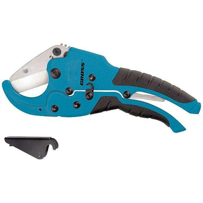 Ножницы для резки изд. из ПВХ GROSS, D  до 45 мм, обрезин. Рукоятки
