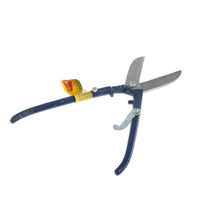 Ножницы по металлу Hobbi/Remocolor , с фиксатором, 250 мм