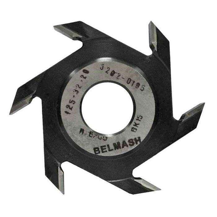 Фреза пазовая, BELMASH 125×32×20 мм