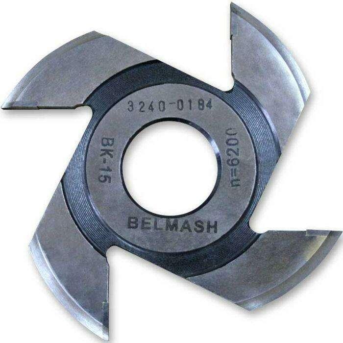 Фреза радиусная для фрезерования полуштапов, BELMASH 125×32×7 мм (левая)