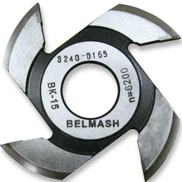 Фреза радиусная для фрезерования полуштапов, BELMASH 125×32×8 мм (правая)