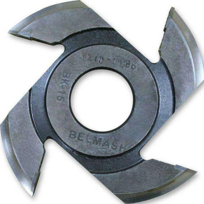 Фреза радиусная для фрезерования полуштапов, BELMASH 125×32×9 мм (левая)