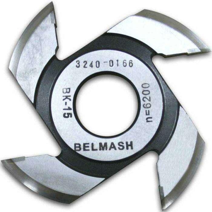 Фреза радиусная для фрезерования полуштапов, BELMASH 125×32×9 мм (правая)
