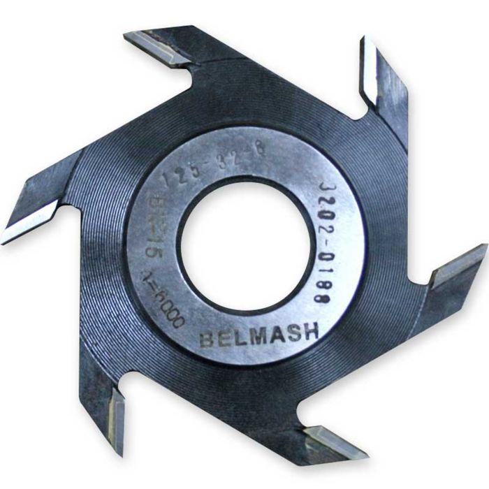 Фреза пазовая, BELMASH 125×32×8 мм