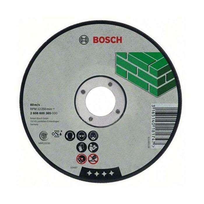 Круг отрезной по камню BOSCH 2608600385, Expert for Stone, прямой, 125х2,5 мм