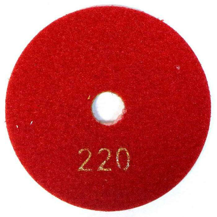 Полировальный круг BAUMESSER Standart, №220 100 х 3 х 15 мм