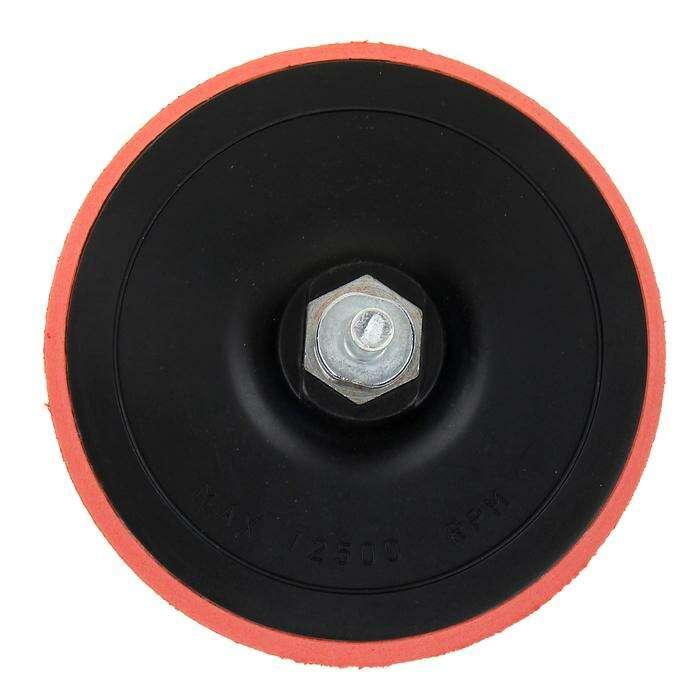 Насадка для дрели и УШМ Matrix, с липучкой, 125 мм