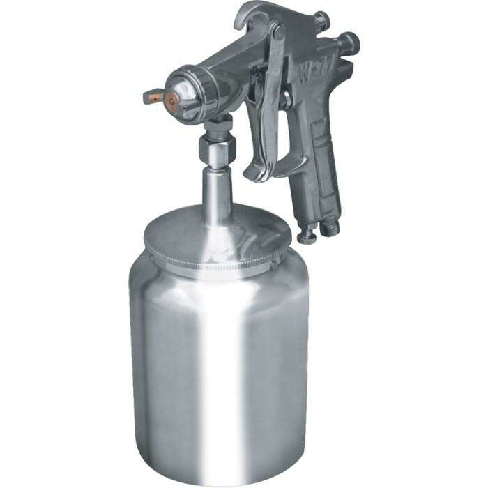"Краскораспылитель ""Кратон"" HP-02S, дюза 2 мм, 3-4 атм, 120-200 л/мин, 1 л., 1.4"""