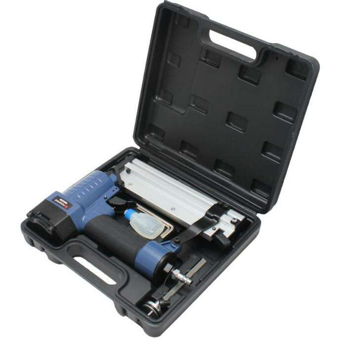 Степлер пневматический Forsage F-03F0017, 2в1, сменный боёк, штифт/ скоба L 10-50мм, 7 атм