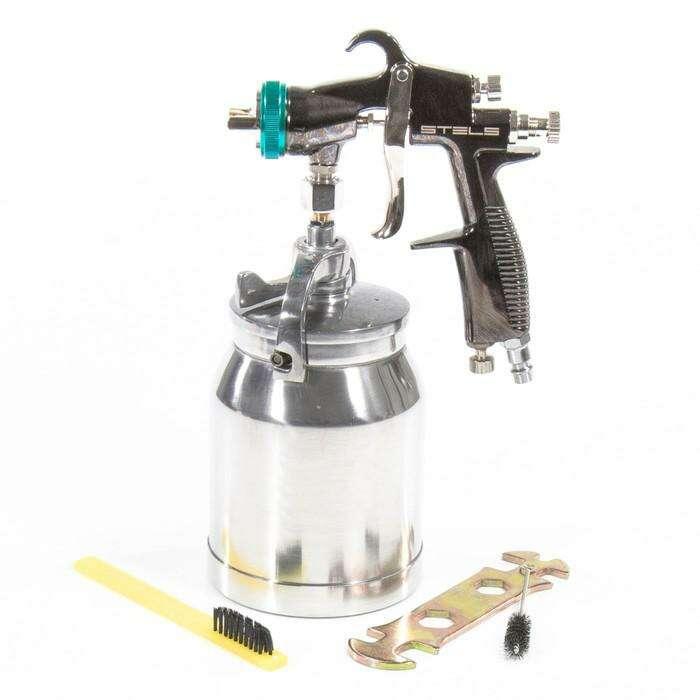 Краскораспылитель STELS AS 951 LVLP, профессиональный, всасывающего типа, сопло 1,5 мм