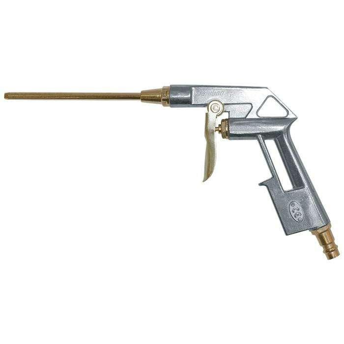 Пневмопистолет продувочный FUBAG 110122, удлиненный, мет. корпус, 170 л/м, 4 бар, 95 мм