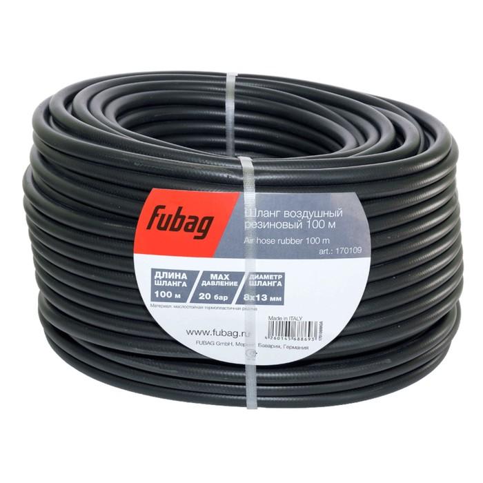 Шланг FUBAG, маслостойкая термопластичная резина, 20бар, 8x13мм, 100м