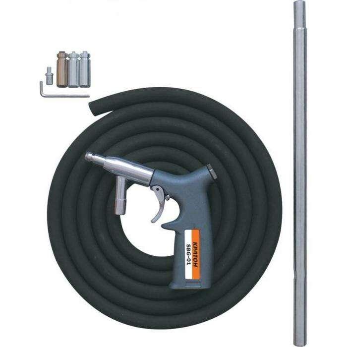 """Пистолет пескоструйный """"Кратон"""" SBG-01, 2-4 атм, 120 л/мин, 1.4"""""""