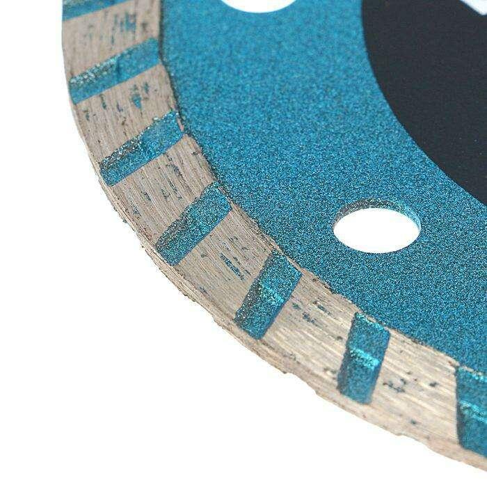 Диск алмазный отрезной TUNDRA basic, турбо, сухой рез, 115 х 22 мм