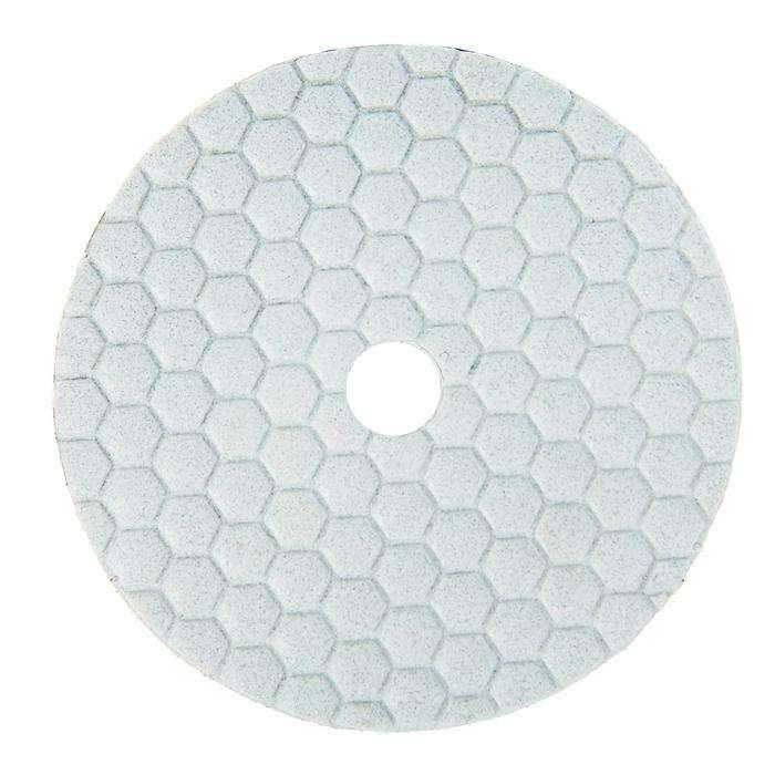 Алмазный гибкий шлифовальный круг TUNDRA premium, для сухой шлифовки, 100 мм, № 100