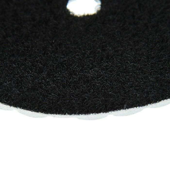 Алмазный гибкий шлифовальный круг TUNDRA premium, для сухой шлифовки, 100 мм, № 200