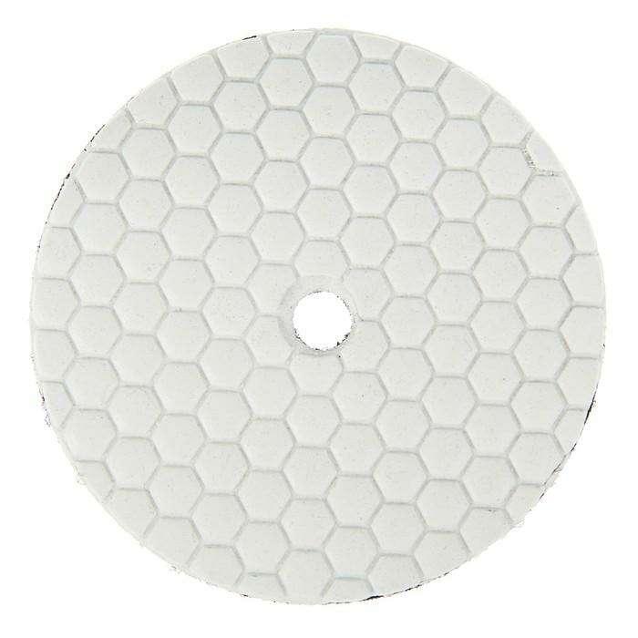Алмазный гибкий шлифовальный круг TUNDRA premium, для сухой шлифовки, 100 мм, № 800