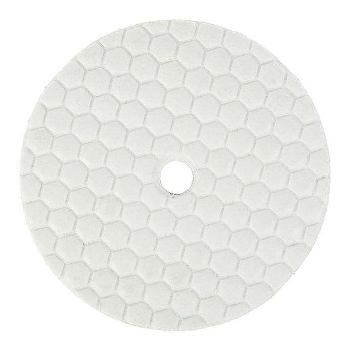 Алмазный гибкий шлифовальный круг TUNDRA premium, для сухой шлифовки, 100 мм, № 400