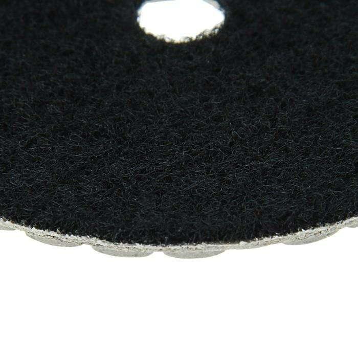 Алмазный гибкий шлифовальный круг TUNDRA premium, для сухой шлифовки, 100 мм, № 3000