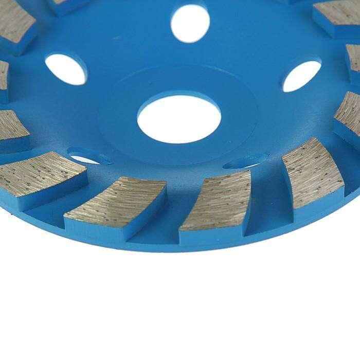 Чашка алмазная зачистная TUNDRA basic, турбосегмент, 125 мм