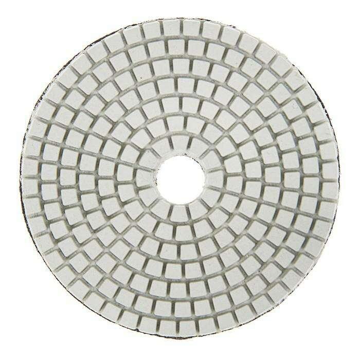 Алмазный гибкий шлифовальный круг TUNDRA premium, для мокрой шлифовки, 100 мм, № 3000