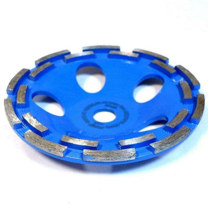 Чашка алмазная двухрядная DISTAR Extra, бетон, 180 х 22,2 мм