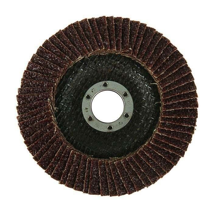 Круг лепестковый торцевой конический TUNDRA basic, 125 х 22 мм, Р24