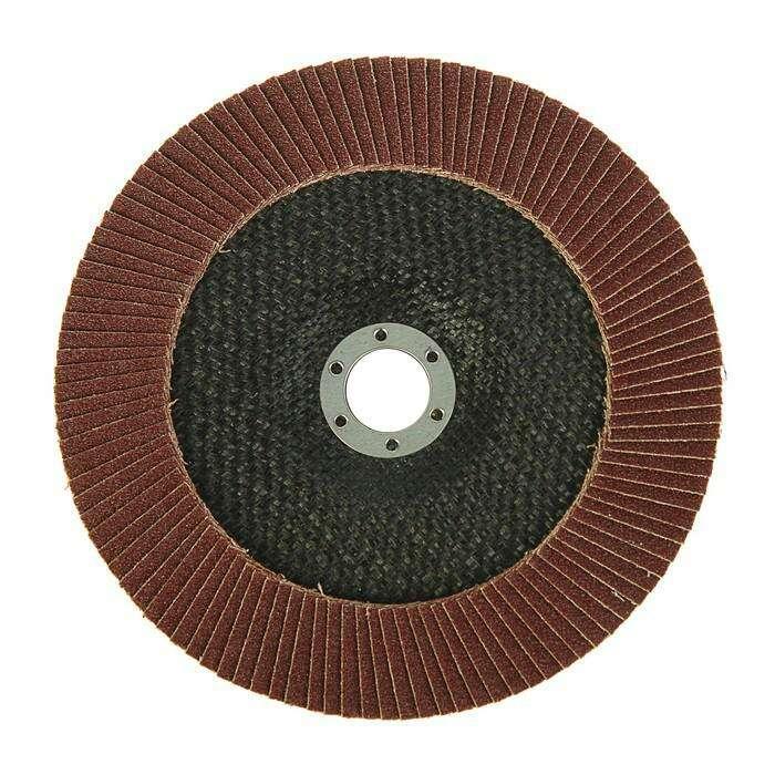 Круг лепестковый торцевой LOM, 180 × 22 мм, Р100