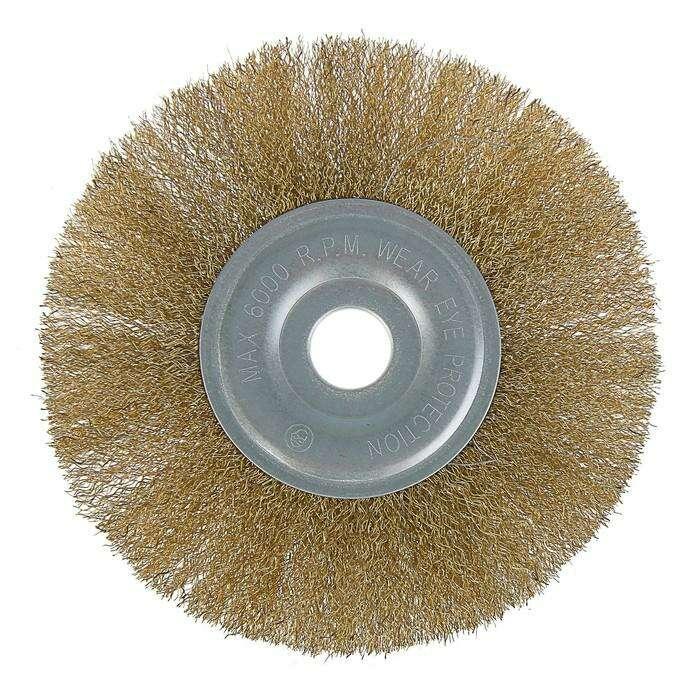 Щетка металлическая для УШМ LOM, плоская, 22 мм, 175 мм