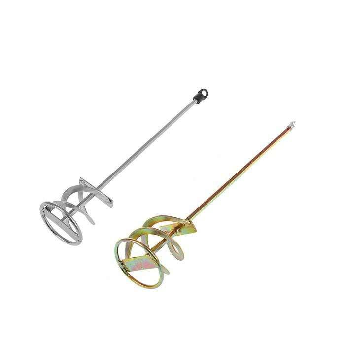 Миксер TUNDRA basic, для красок и штукатурных смесей, шестигранный хвостовик, 8 х 80 х 400 мм 116418