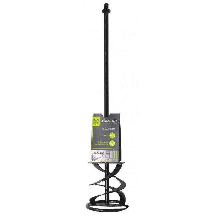 Миксер ARMERO, для цементных смесей 15-20 кг, 100х600 мм, SDS хвостовик