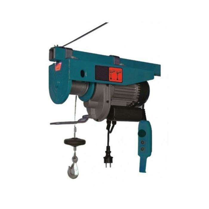Электротельфер Forsage F-TRH1200, подъем 12/6 м, 600/1200 кг, 220 В, 1800 Вт