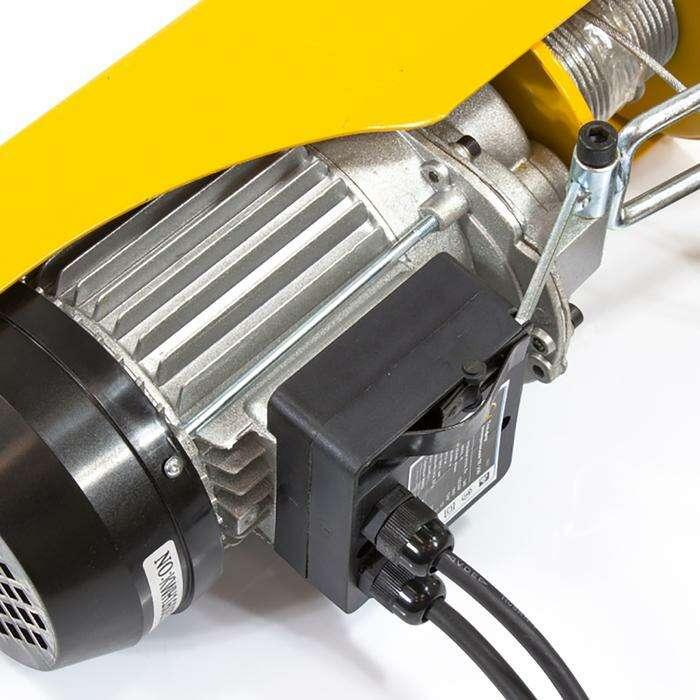 Тельфер электрический DENZEL TF-250, 0,25 т, 540 Вт, высота 12 м, 10 м/мин