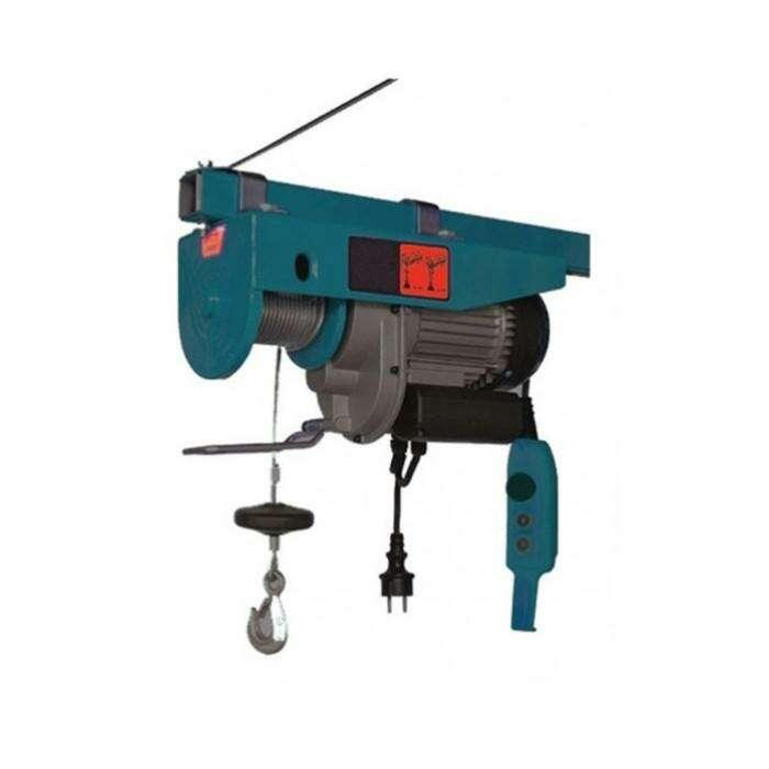 Электротельфер Forsage F-TRH1005, 250/500 кг, подъем 12/6 м, 220 В, 1000 Вт