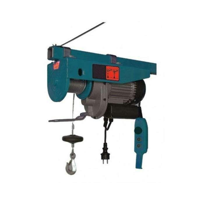Электротельфер Forsage F-TRH1007, 350/700 кг, подъем 12/6 м, 220 В, 1450 Вт