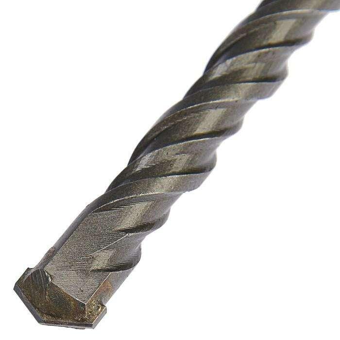 Бур по бетону TUNDRA basic, двойная спираль, SDS-plus, 12 х 310 мм