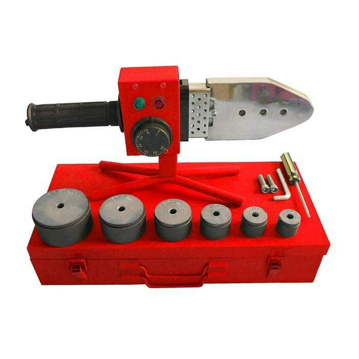 Сварочный аппарат для полипропилена Elitech СПТ 800, 220В, 0.8 кВт, 300°, 6 насадок, кейс