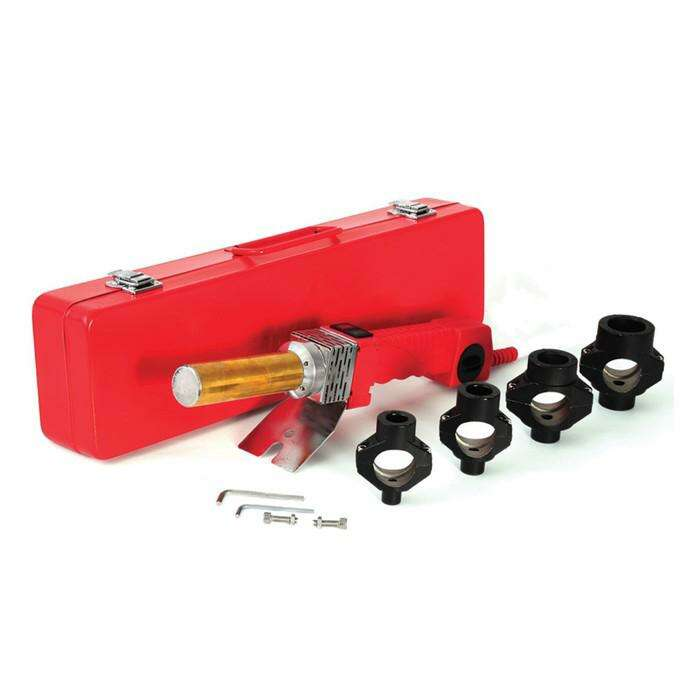 Сварочный аппарат для полипропилена Elitech СПТ 1000, 220В, 1кВт, 50-300°, 4 насадки, кейс