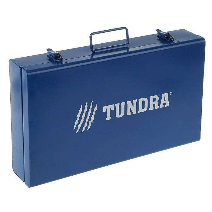 Аппарат для сварки пластиковых труб TUNDRA , 1700 Вт, комплект насадок 20-63 мм, 50-300°