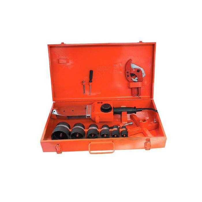 Свар.аппарат для пл.труб RedVerg RD-PW1500-63, 220В, 1.5 кВт, 300°, насадки 20-63 мм, кейс