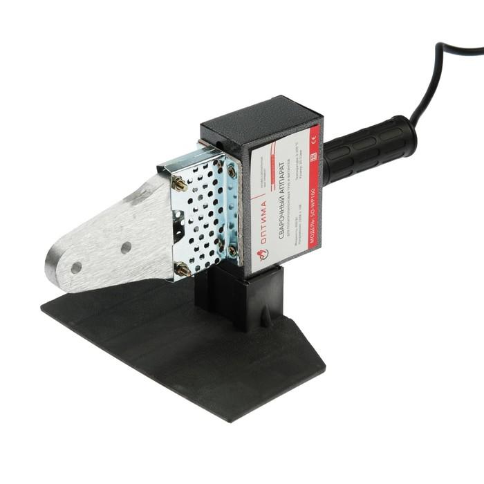 "Аппарат для сварки пластиковых труб ""ОПТИМА"" SO-WP100, 600 Вт, 220 В, 50-300°С, 20-32 мм"