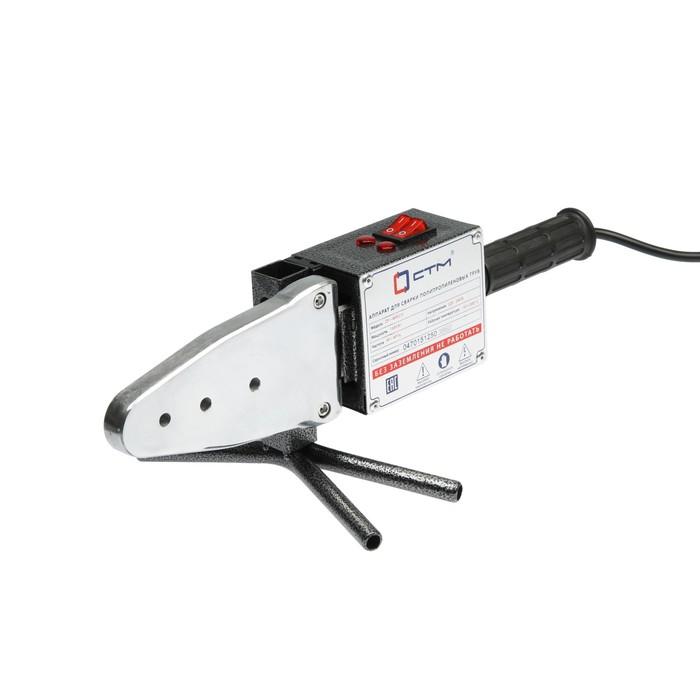 Аппарат для сварки пластиковых труб СТМ CP-WM215, 1500 Вт, 220 В, 50-300°С, 20-63 мм